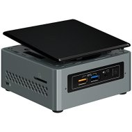 Intel NUC NUC6CAYH Mini PC/HTPC, Intel Quad-Core J3455 Upto 2.3GHz, 4GB DDR4, 128GB SSD, Wifi, Bluetooth, 4k Support, Dual Monitor Capable, Windows 10 Professional 64Bit