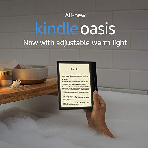 Kindle Oasis – Now with adjustable warm light – Ad-Supported 1
