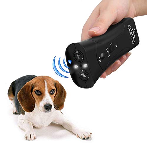 koaius Handheld Dog Repellent, Ultrasonic Infrared Dog Deterrent, Bark Stopper + Good Behavior Dog Training 1