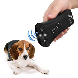 koaius Handheld Dog Repellent, Ultrasonic Infrared Dog Deterrent, Bark Stopper + Good Behavior Dog Training