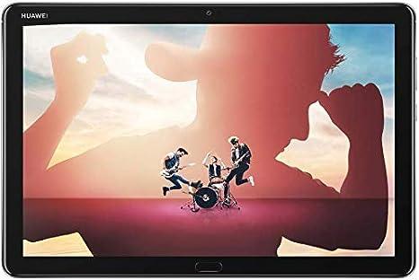 """HUAWEI MediaPad M5 lite 10 Wi-Fi Tablette Tactile 10.1"""" Gris (64Go, 4Go de RAM, Android 8.0, Bluetooth, Quatre haut-parleurs)"""