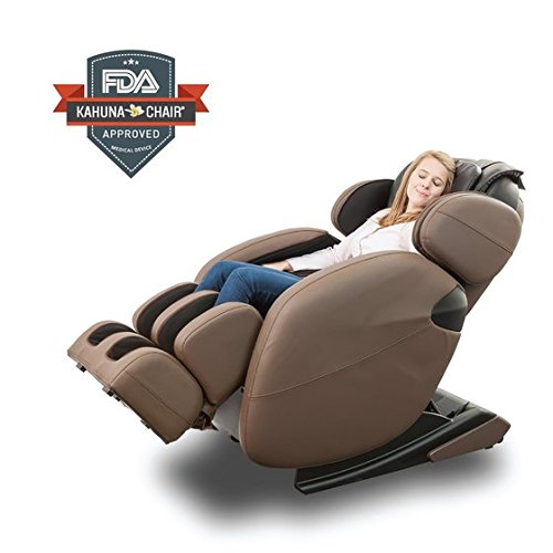 Space-Saving Zero-Gravity Full-Body Kahuna Massage Chair Recliner LM6800 with yoga & heating therapy