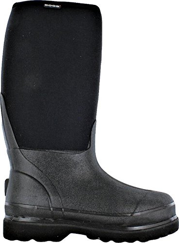 Bogs Men's Rancher Waterproof Industrial Work Rain Boot, Black, 13 D(M) US
