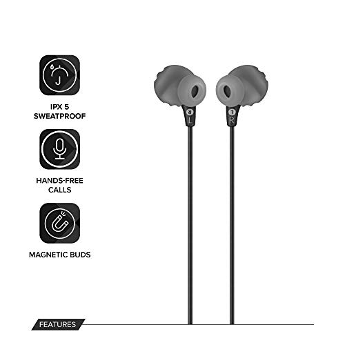 41IhgNuEqNL JBL Endurance Run Sweat-Proof Sports in-Ear Headphones with One-Button Remote and Microphone (Black)