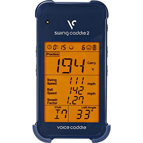 Voice Caddie SC 200 Portable Golf Launch Monitor with Audible Output, Blue