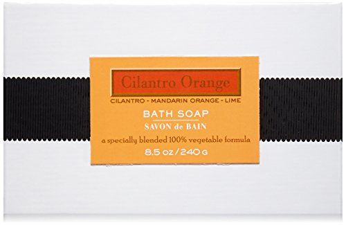 41IjR1qo5jL Solvent-free coconut oil-based soap with a 14% olive oil, almond oil & rice protein blend. The soap is hard milled, air dried and scented with essential oil based fragrance. Free of: BHT, EDTA, parabens and sulfates.
