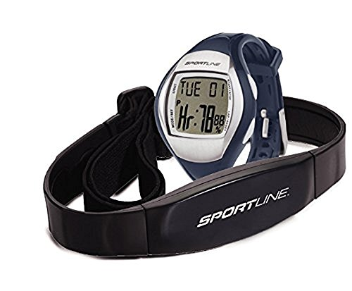 Sportline Duo 1010 Women's Dual Use Heart Rate Monitor With Full Service Watch, Chronograph And Timer
