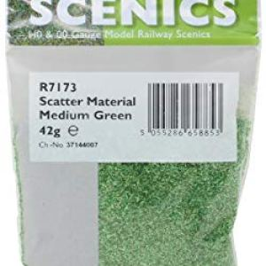 Hornby R7173 Scatter – Medium Green Scenic Materials, Multi 41IpcroR 2B6L