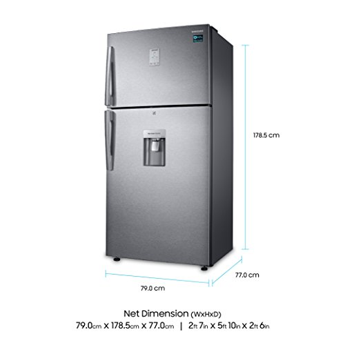 41Iq8ffPdqL Samsung 523 L 3 Star ( 2019 ) Frost Free Double Door Refrigerator(RT54K6558SL/TL, Silver, Convertible)