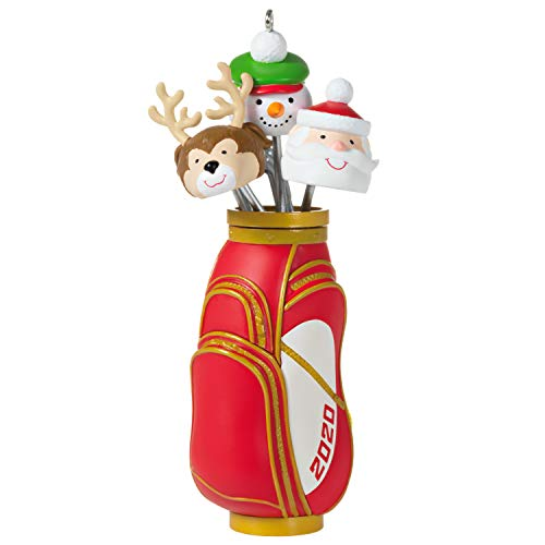 Hallmark-Keepsake-Christmas-Ornament-2020-Year-Dated-Ho-Ho-Hole-in-One-Golf-Bag