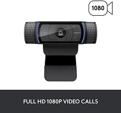 Logitech C920x HD Pro Webcam, Full HD 1080p/30fps Video Calling, Clear Stereo Audio, HD Light Correction, Works with Skype, Zoom, FaceTime, Hangouts, PC/Mac/Laptop/Macbook/Tablet - Black 14