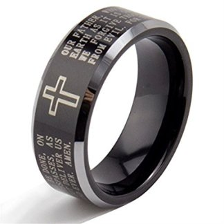 Mens-Cross Rings