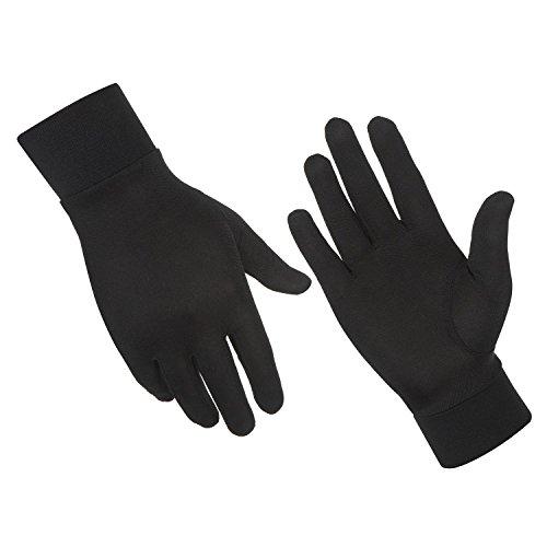 Alaska Bear Natural Silk Thermal Glove Liners Ski Bike Motorcycle Cycling Golf Liner Gloves