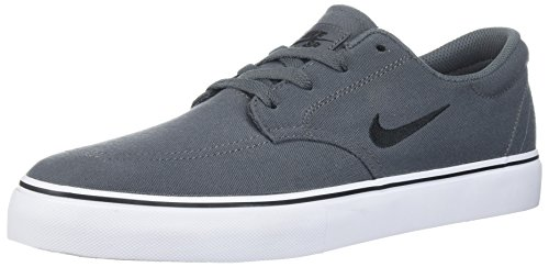 Nike Men's SB Clutch Skate Shoe, Dark Grey/Black/White/Gum Light Brown, 7 D US