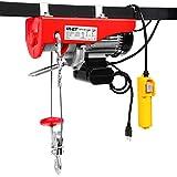 Goplus Lift Electric Hoist Garage Auto Shop Electric Wire Hoist Overhead Lift w/Remote Control (1320LBS)