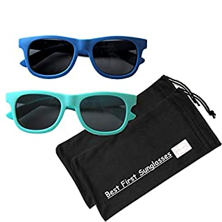 Our growing line of My First Sunglasses truly fit a small child's developing small face perfectly. There are many fun colors to choose from. It provides 100% UV protection and it is so stylish to wear! We have even added brand new, matching adult ver...
