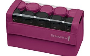 Remington H1015 Compact Ceramic Worldwide Voltage Hair Setter, Hair Rollers, 1-1 Inch, Pink