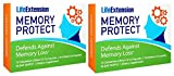 Life Extension Memory Protect Powerful Dual-Action Cognition & Memory Support 12 Colostrinin-Lithium (C-Li) Capsules   24 Lithium (Li) Capsules, 2 Pack