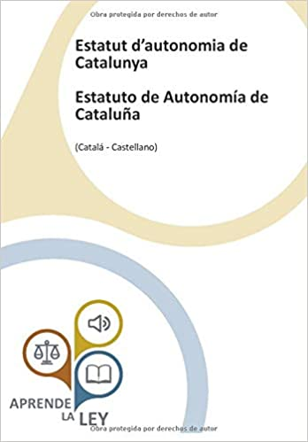 Descargar PDF Gratis Estatut d'autonomia de Catalunya Estatuto de Autonomía de Cataluña
