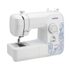 (Renewed) Brother RLX3817 Full Size Sewing Machine, White