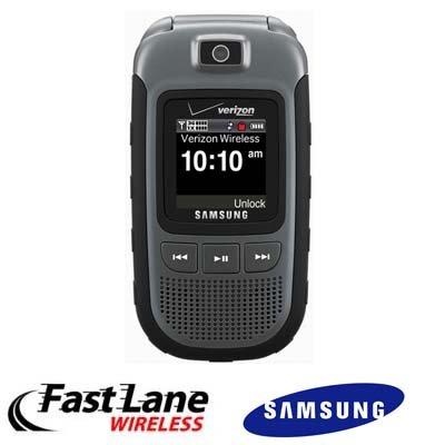 Samsung Convoy SCH-U640 Cell Phone Ruggedized PTT...