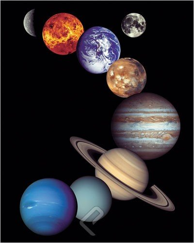 EuroGraphics NASA - Solar System. Print Poster (16 x 20) by
