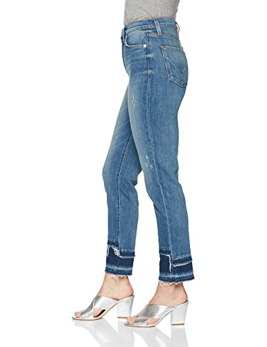 41JFAgpWXIL Soft, shaping denim fabric with full stretch recovery 5 pocket detail 10 inch rise
