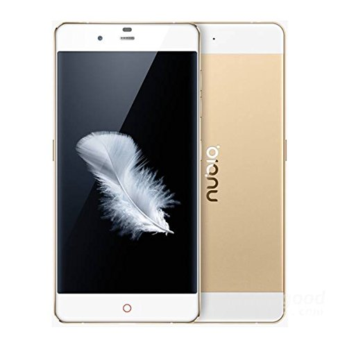 ZTE Nubia My Prague NX513J Octa Core Qualcomm Snapdragon615 5.2 Inch Screen Android 5.0 3GB RAM 32G ROM 13.0MP 4G Cellphone (Gold)