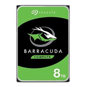Seagate 8TB Barracuda SATA 6Gb/s 256MB Cache 3.5-Inch Internal Hard Drive (ST8000DM004) (Renewed)