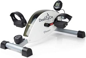 DeskCycle Under Desk Bike Pedal Exerciser – Mini Exercise Peddler – Stationary Cycle for Home & Office