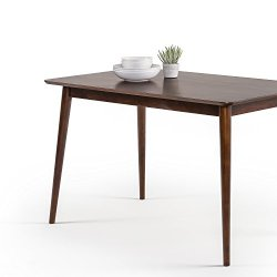 ZINUS Jen 47 Inch Wood Dining Table / Solid Wood Kitchen Table / Easy Assembly, Espresso