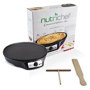 Aluminum-Griddle-Hot-Plate-Cooktop-Nonstick-12-Inch-Electric-Crepe-Maker-wLED-Indicator-Light-and-Adjustable-Temperature-Control-Wooden-Spatula-and-Batter-Spreader-Included-NutriChef