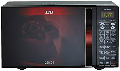 IFB-23-L-Convection-Microwave-Oven-23BC4-BlackFloral-Design