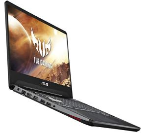 ASUS TUF (2019) Gaming Laptop, 15.6' 120Hz Full HD IPS-Type, AMD Ryzen 7 3750H, GeForce GTX 1650, 8GB DDR4, 512GB PCIe SSD, Gigabit Wi-Fi 5, Windows 10 Home, FX505DT-EB73