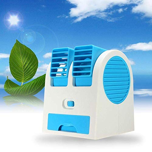 41Jn8eNLAYL - SPJ ENTERPRISE™ Dual Bladeless Mini Fan Air Conditioner Water Air Cooler, air Coolers for House, air Coolers for Home, air Cooler for Room (Multi-Coloured)