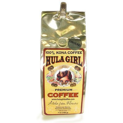 100% Kona Coffee Premium Mulvadi Ground Coffee