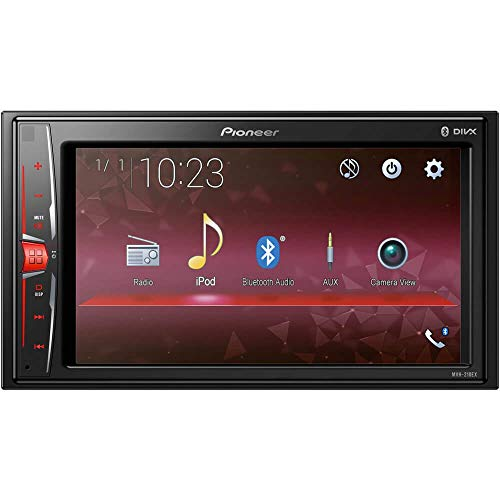 6.2' Double DIN in-Dash Multimedia A/V Receiver with Bluetooth