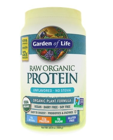 Garden Of Life Raw - Organic Protein Unflav 20 oz