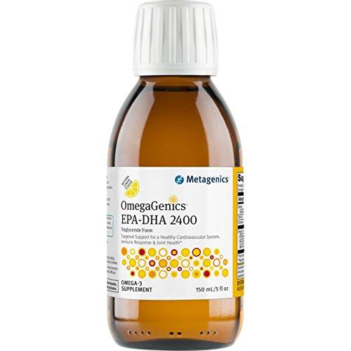 Metagenics - OmegaGenics EPA-DHA 2400 Liquid, 5 fl oz