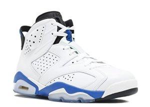 254a881cb3b7 Buy Cheap Air Jordan 6 Retro Men s Shoes White Sport Blue-Black ...