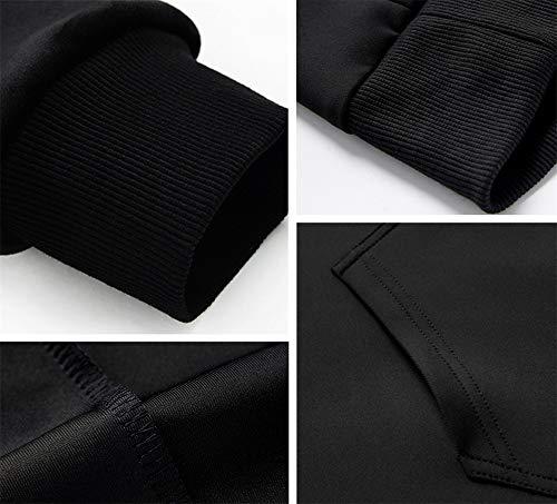 COOLBEARD Men's Clothing Sweaters Walking Hoodies Drawstring Warm 4