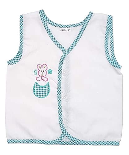 41Jz4dZNvWS KIDSKA® New child Child Cotton Jhabla New child Child Costume for Child (zero To six Months)
