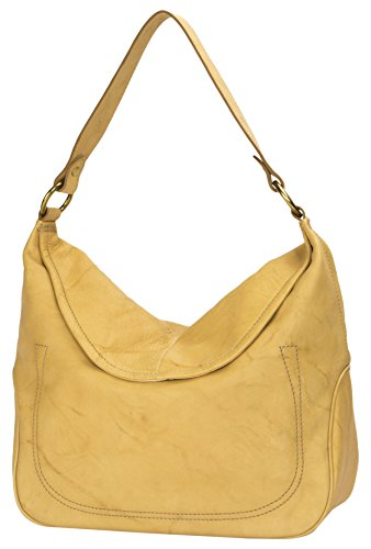 41JzPp4ISIL Large hobo bag from frye's iconic campus collection, is made with american chrome tanned leather that creates a tie-dye affect throughout, no 2 bags will look the same Magnetic snap closure 1 interior zip pocket, slip pockets