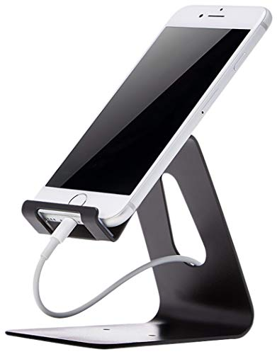 AmazonBasics Cell Phone Stand for iPhone and Android | Black 23