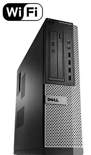 Dell Optiplex 990 SFF Flagship Premium Business Desktop Computer (Intel Quad-Core i5-2400 up to 3.4GHz, 16GB RAM, 2TB HDD, DVD, WiFi, VGA, DisplayPort, Windows 10 Professional) (Certified Refurbished)