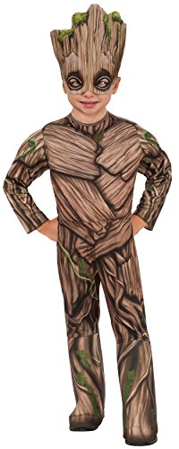 Guardians of the Galaxy 2 costumes - Rubie's Costume Guardians Of The Galaxy Vol. 2 Toddler Deluxe Groot Costume, Multicolor, X-Small