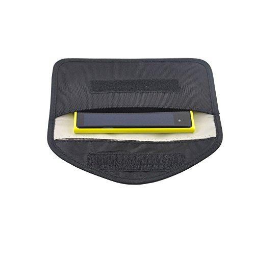 LoveQmall RF Signal Blocker Anti-Radiation Shield Case Bag Pouch for Large-size Cellphone