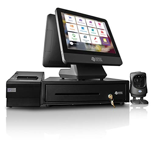 NRS-Cash-Register-for-Small-Businesses-USA-ONLY-POS-System-Bundle-Includes-Merchant-Touch-Screen-Monitor-Customer-Facing-Display-Barcode-Scanner-Cash-Drawer-and-Receipt-Printer