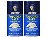 Morton popcorn salt 3.75-oz, Pack of 2