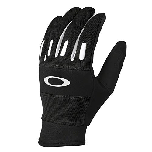 Oakley Mens Factory 2.0 Gloves Large Jet Black